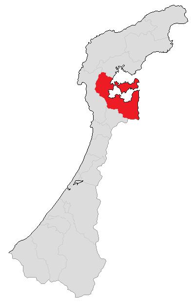 七尾市地図